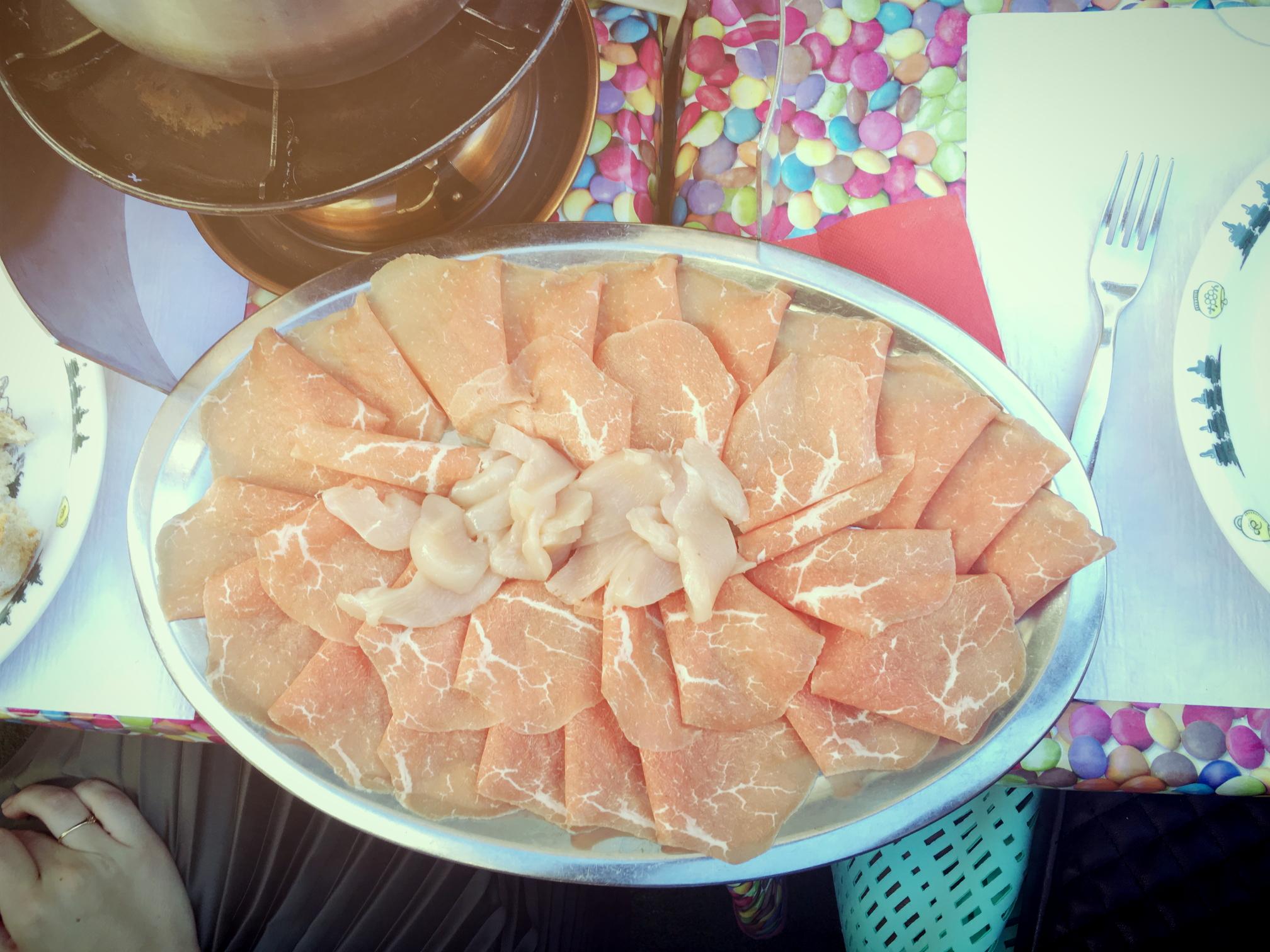 pork fondue